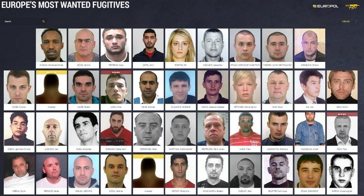 eu mostwanted fugitives